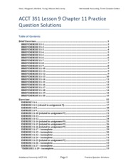 ACCT 351 V12 - L9C11 - Practice Questions and Solutions.pdf