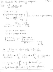 Calculus II Homework