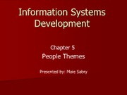 IS612_LECTURE NOTES_Chapter 5 - People Themes