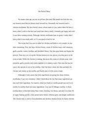 Food critique. Learn how to write in detail essay