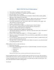 Math 1120 S10 Test 2 Info Fall 2014