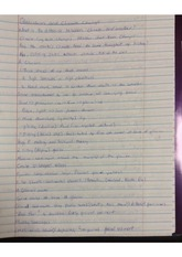 Glaciation and Climate Change Class Notes