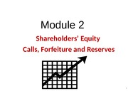 Module 2 Shareholders' Equity (Pt 2)