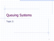 2Lecture 2_Queuing