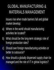 Global Manufacturing.ppt