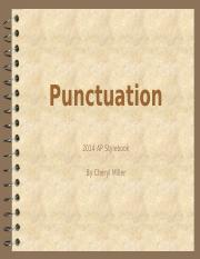 Punctuation and AP Style-2