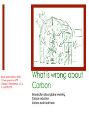 11 Wrong about carbon