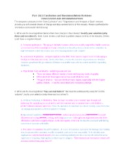 Part 1A1 Conclusions & Recommendations Revisions