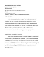 FinePrint Company Case Analysis Paper