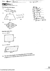 geometry test angles and irregular shapes