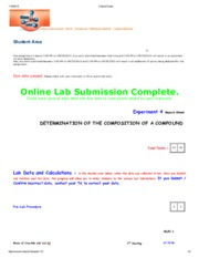Experiment 4 - Determination of the Composition of a Compound.pdf