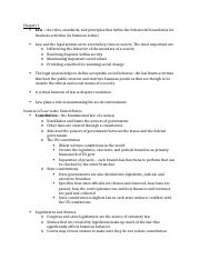 law test 1 study guide.docx