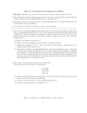 umich team homework math 115