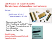 Chapter 12 Electrochemistry