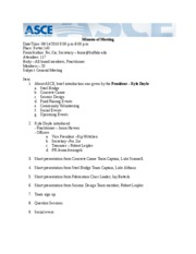 ASCE Minutes of Meeting1