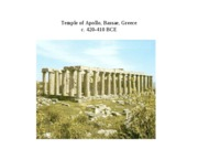 Hellenistic Architecture  Study images