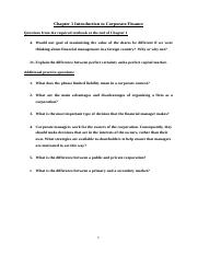 FNCE2000_Chapter1_Introduction_to_Corporate_Finance_Questions.docx