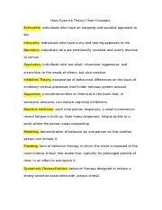 Hans Eysenck Theory Chart Concepts.docx