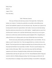 the passion of the christ essay running head the passion of the  4 pages paul s missionary journeys