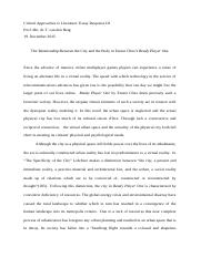 Essay Response III and Abstract10187839