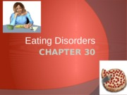 Chapter 30 Eating Disorders