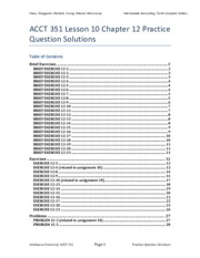 ACCT 351 V12 - L10C12 - Practice Questions and Solutions.pdf