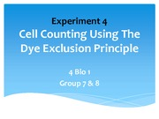 161570035-Cell-Counting-Using-Dye-Exclusion-Principle