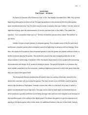 Econ in the Digital Age - Project Paper - Final Draft