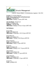 SOM 301 Fall 2010Syllabus-1