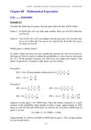 Ch3 Mathematical Expectation