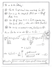 CHE 150 Interpolation - Fourier Transformations Notes