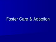 PP9 Foster Care Adoption.ppt