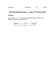 Phys Sample Quiz 1