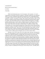 global warming amanda bircheat bio environmental science most popular documents for biology