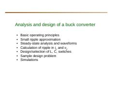 Lecture 3 Buck converter analysis and design.pdf