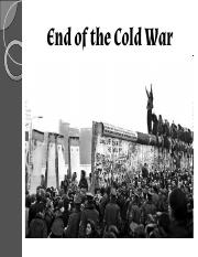 WH-14.4- End of the Cold War