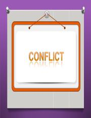conflict.ppt