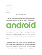 Why I Choose Android Phone.docx