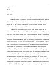 Early American Wars Essay.docx