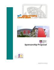 10thAnniversary- Sponsorship Package
