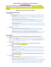 Greenwood_Unit_2_Study_Guide