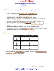 Accounting Assignemnts (6)