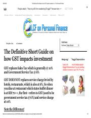 Supplement Lecture 1_9_The Definitive Short Guide on how GST impacts investment - LCF on Personal Fi