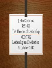 Theories of Leadership Powerpoint.pptx