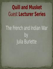 French+and+Indian+War+for+HIST101