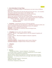 BIO 101 EXAM 4 FINAL STUDY GUIDE copy