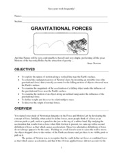 Lab Gravitational Forces