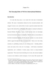 emerging roles of NGOs in international relations-261115_114222-1