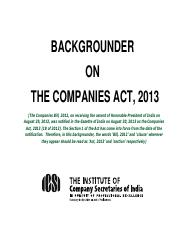 Companies Bill 2012backgrounder.pdf