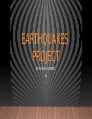 Earthquake Project .pptx